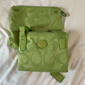 Coach tote in bag, new with tags